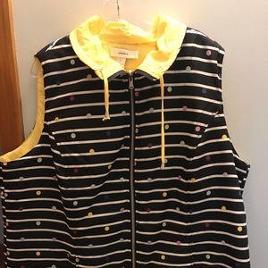 CJ Banks reversible puff vest